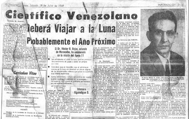 rceni - Héctor Rafael Rojas - el- astrofísico- venezolano -que- índico- donde- alunizar-