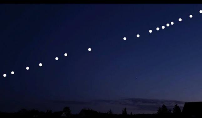 rceni - Hilera de satélites Starlink -de- SpaceX -donde- y -cuando- podemos -verla-