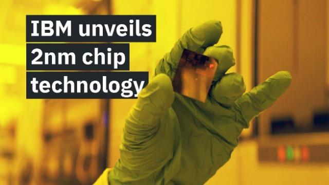 rceni - IBM chip de 2 nanómetros