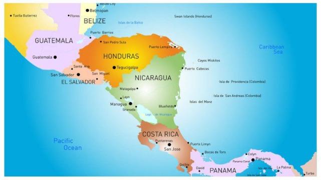 rceni - Región de Centroamérica - estas- son- sus -zonas- horarias-
