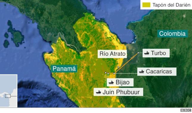 rceni - Tapón de Darién - en- Panamá- una- de- las- rutas- migratorias- mas -peligrosas-
