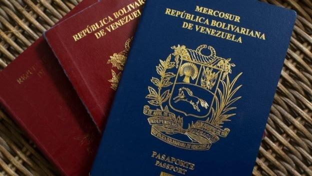 rceni - Los pasaportes venezolanos -vencidos -tienen- vigencia -en- colombia-
