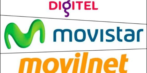rceni - Nuevos ajustes en junio -en -servicios- de -Digitel-Movistar -y -Movilnet-