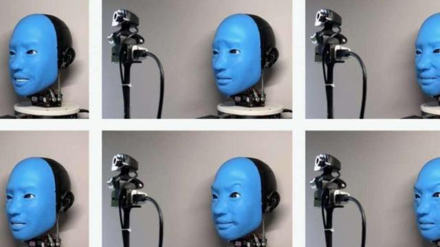 rceni - Robot Eva - aprende- a -responder- a- las- expresiones -faciales- humanas-