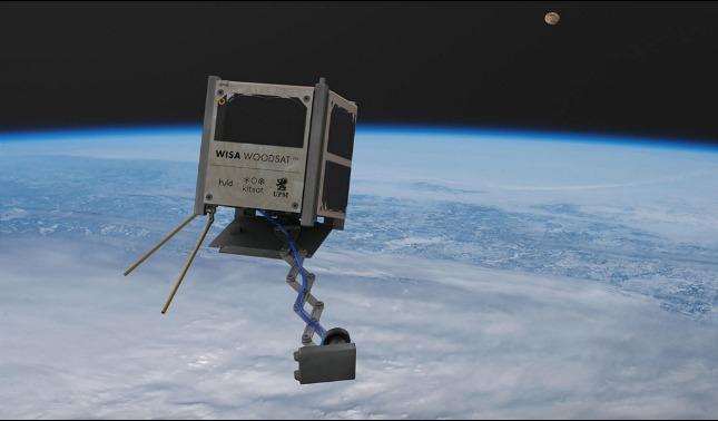 rceni - WISA Woodsat - es -el -primer- satelite- hecho- de- madera- e- ira- al- espacio -