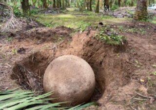 rceni - Esfera de piedra -encontraron- una- nueva- en -Costa -Rica-