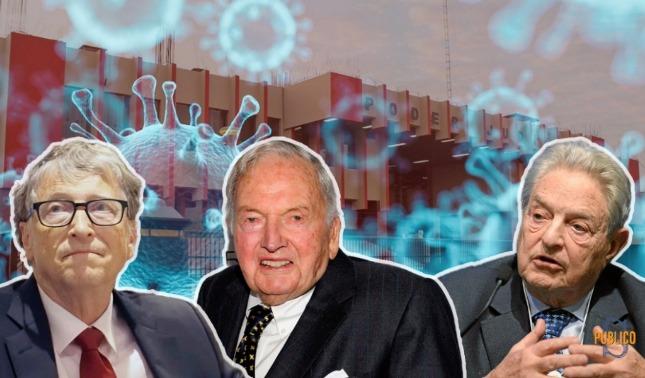 rceni - Gates y Soros -buscan -ayudar-a- la- humanidad -hundiendola- mas-