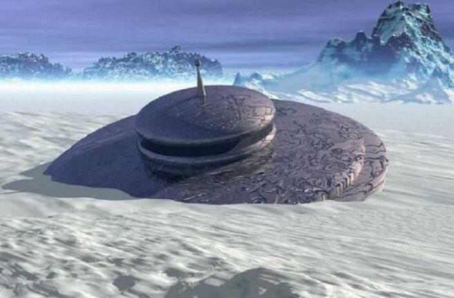rceni - La Antártida -ufologos -descubren -dos- ovnis- en- una -zona -rocosa-