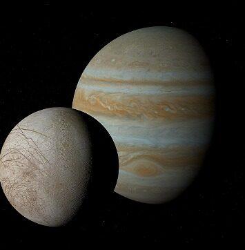 rceni - Luna ganímedes de júpiter - encuentran- la- primera -prueba- de- vapor- de- agua -