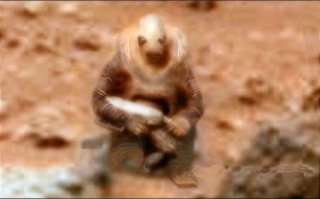 rceni - Soldado extraterrestre -es -captado -por- sonda -de- nasa- en- Marte-