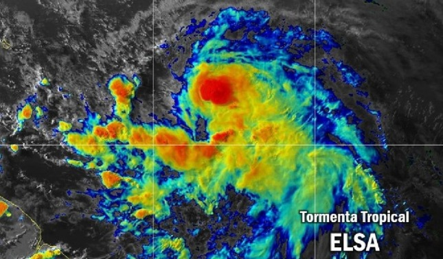 rceni - Tormenta tropical Elsa -del -Atlántico -qué -países- pueden -verse -afectados-