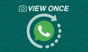 rceni - View Once -de- WhatsApp- desaparece -los- mensajes -despues -de- vistos-
