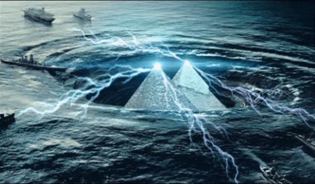 rceni - Dos pirámides -descubiertas- en -el triángulo- de -las- bermudas- son- aliens-
