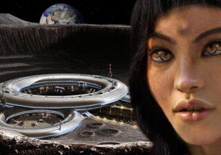 rceni - La luna -encuentran- mujer -extraterrestre- en- una- ciudad -abandonada-
